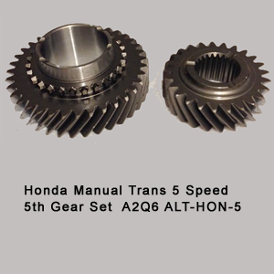 Honda Manual Trans 5 Speed 5th Gear Set  A2Q6 ALT-HON-5