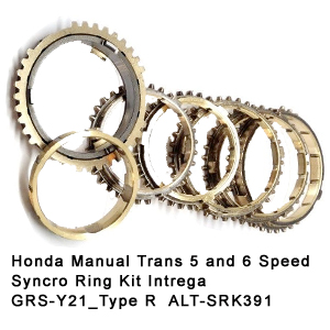 Honda Manual Trans 5 and 6 Speed Syncro Ring Kit Intrega GRS-Y21_Type R  ALT-SRK391