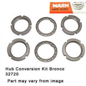 Hub Conversion Kit Bronco 32720