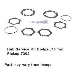 Hub Service Kit Dodge .75 Ton Pickup 7302