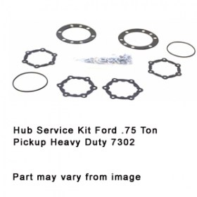 Hub Service Kit Ford .75 Ton Pickup Heavy Duty 7302