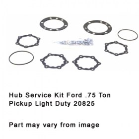 Hub Service Kit Ford .75 Ton Pickup Light Duty 20825