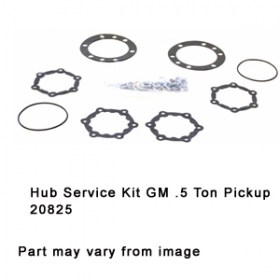 Hub Service Kit GM .5 Ton Pickup 20825