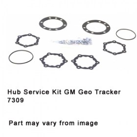 Hub Service Kit GM Geo Tracker 7309