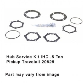 Hub Service Kit IHC .5 Ton Pickup Travelall 20825