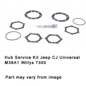 Hub Service Kit Jeep CJ Universal M38A1 Willys 7300