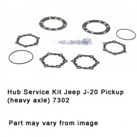 Hub Service Kit Jeep J-20 Pickup (heavy axle) 7302