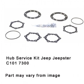 Hub Service Kit Jeep Jeepster C101 7300