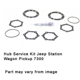 Hub Service Kit Jeep Station Wagon Pickup 7300