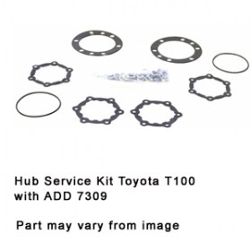 Hub Service Kit Toyota T100 with ADD 7309