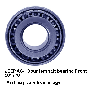 JEEP AX4  Countershaft bearing Front 301770