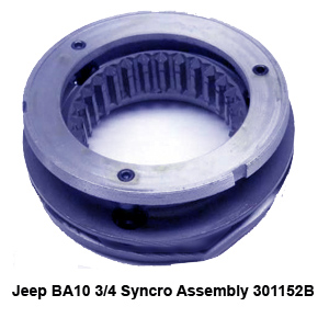Jeep BA10 3-4 Syncro Assembly 301152B