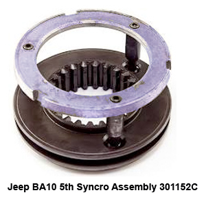 Jeep BA10 5th Syncro Assembly 301152C