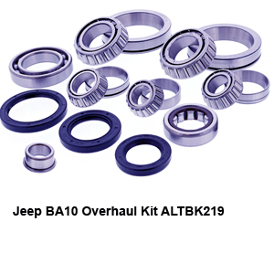 Jeep BA10 Overhaul Kit ALTBK219