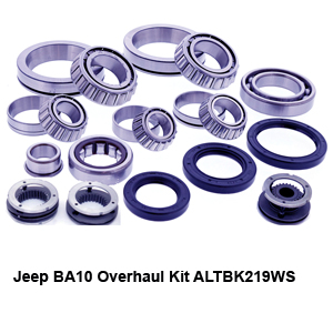 Jeep BA10 Overhaul Kit ALTBK219WS