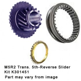 M5R2 Trans. 5th-Reverse Slider Kit K301451