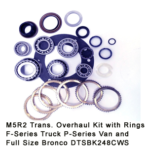 M5R2 Trans. Overhaul Kit with Rings F-Series Truck P-Series Van and Full Size Bronco DTSBK248CWS