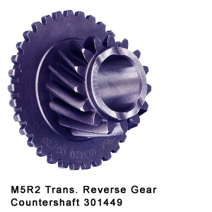 M5R2 Trans. Reverse Gear Countershaft 301449