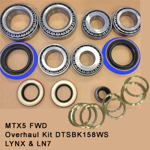 MTX5 FWD Overhaul Kit DTSBK158WS LYNX & LN71