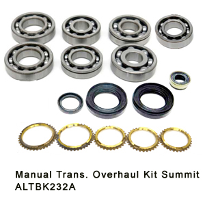 Manual Trans. Overhaul Kit Summit ALTBK232A9