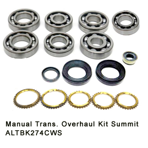 Manual Trans. Overhaul Kit Summit ALTBK274CWS