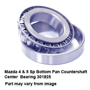 Mazda 4 & 5 Sp Bottom Pan Countershaft Center  Bearing 301825