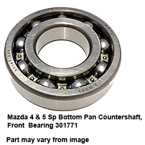 Mazda 4 & 5 Sp Bottom Pan Countershaft Front  Bearing 301771