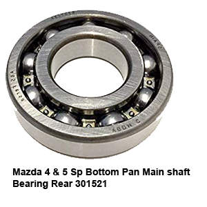 Mazda 4 & 5 Sp Bottom Pan Main shaft Bearing Rear 301521