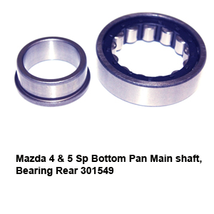Mazda 4 & 5 Sp Bottom Pan Main shaft Bearing Rear 301549
