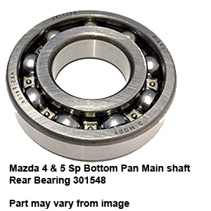 Mazda 4 & 5 Sp Bottom Pan Main shaft Rear Bearing 301548