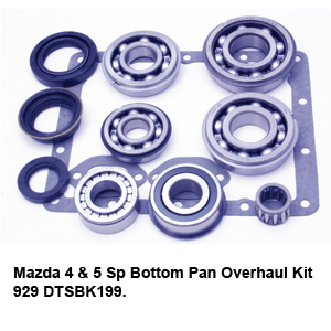 Mazda 4 & 5 Sp Bottom Pan Overhaul Kit 929 DTSBK199