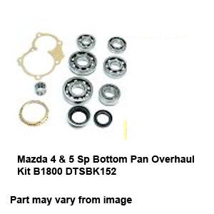 Mazda 4 & 5 Sp Bottom Pan Overhaul Kit B1800 DTSBK152