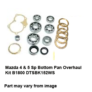 Mazda 4 & 5 Sp Bottom Pan Overhaul Kit B1800 DTSBK152WS