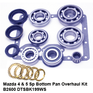 Mazda 4 & 5 Sp Bottom Pan Overhaul Kit B2600 DTSBK199WS5