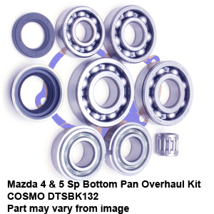 Mazda 4 & 5 Sp Bottom Pan Overhaul Kit COSMO DTSBK132