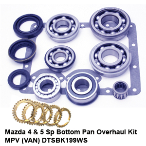 Mazda 4 & 5 Sp Bottom Pan Overhaul Kit MPV (VAN) DTSBK199WS