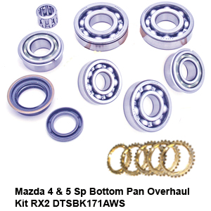 Mazda 4 & 5 Sp Bottom Pan Overhaul Kit RX2 DTSBK171AWS