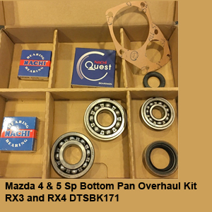Mazda 4 & 5 Sp Bottom Pan Overhaul Kit RX3 and RX4 DTSBK171