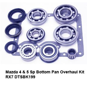 Mazda 4 & 5 Sp Bottom Pan Overhaul Kit RX7 DTSBK1991