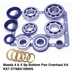 Mazda 4 & 5 Sp Bottom Pan Overhaul Kit RX7 DTSBK199WS