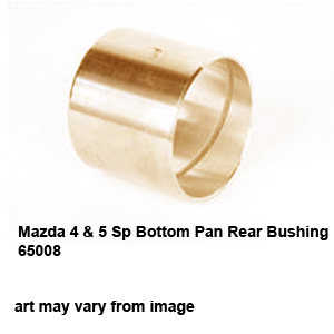 Mazda 4 & 5 Sp Bottom Pan Rear Bushing 65008