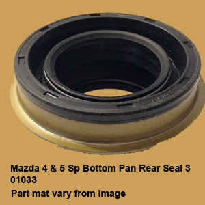 Mazda 4 & 5 Sp Bottom Pan Rear Seal 301033