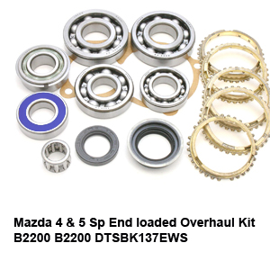 Mazda 4 & 5 Sp End loaded Overhaul Kit B2200 B2200 DTSBK137EWS