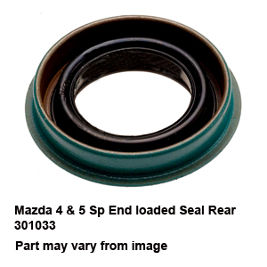Mazda 4 & 5 Sp End loaded Seal Rear 301033