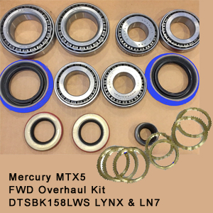 Mercury MTX5 FWD Overhaul Kit  DTSBK158LWS LYNX & LN7