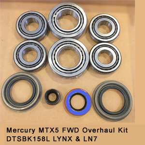 Mercury MTX5 FWD Overhaul Kit DTSBK158L LYNX & LN75