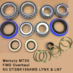 Mercury MTX5 FWD Overhaul Kit DTSBK159AWS LYNX & LN79