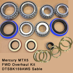Mercury MTX5 FWD Overhaul Kit DTSBK159AWS Sable