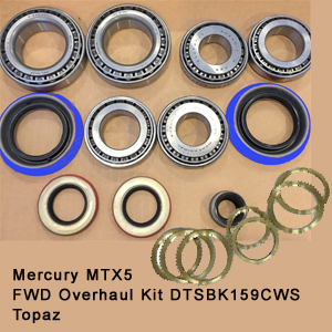 Mercury MTX5 FWD Overhaul Kit DTSBK159CWS Topaz