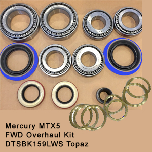 Mercury MTX5 FWD Overhaul Kit DTSBK159LWS Topaz